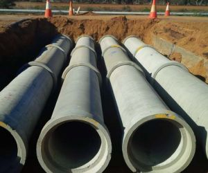 Drainage pipes & Headwalls